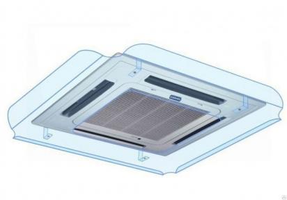 Защитный экран кассетный - Дефлектор ДКП-1200